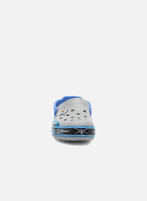 Sandalen Crocs CrocsLights StarWarsXwing Clog grau schuhe getragen