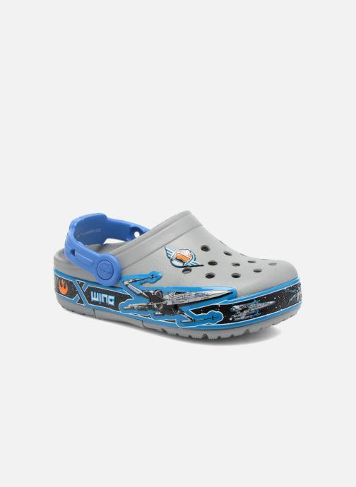 Sandalias Crocs CrocsLights StarWarsXwing Clog Gris vista de detalle / par