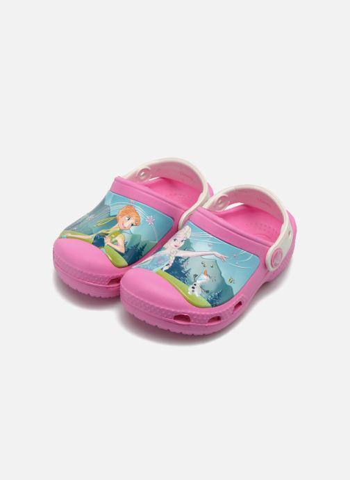 Sandalen Crocs CC FrozenFever Clog K rosa 3 von 4 ansichten