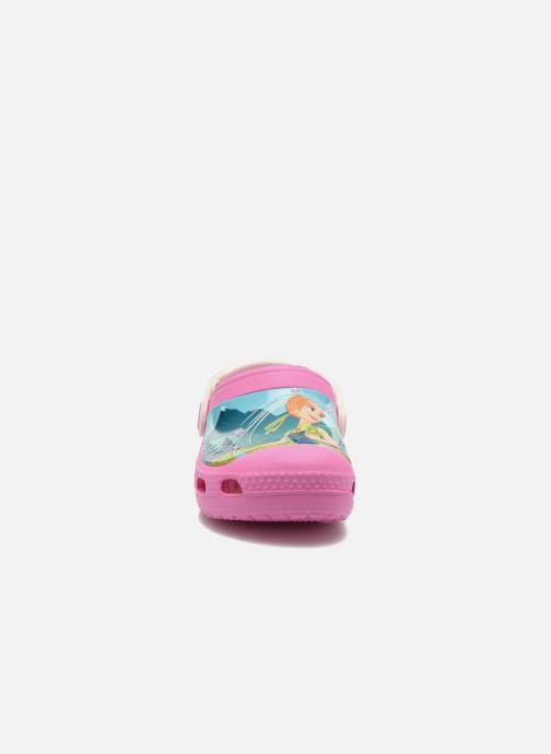 Sandalen Crocs CC FrozenFever Clog K rosa schuhe getragen