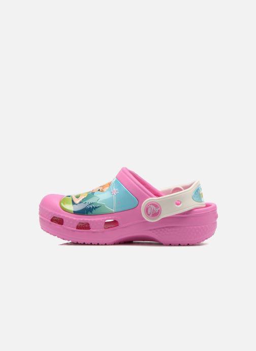 Sandales et nu-pieds Crocs CC FrozenFever Clog K Rose vue face
