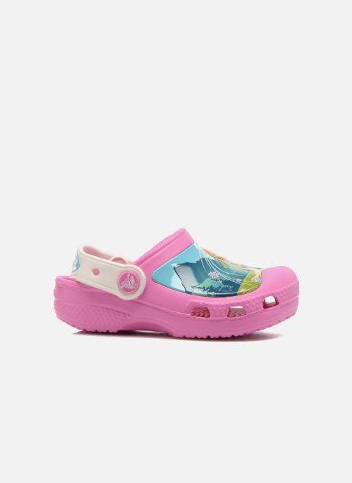Sandales et nu-pieds Crocs CC FrozenFever Clog K Rose vue derrière