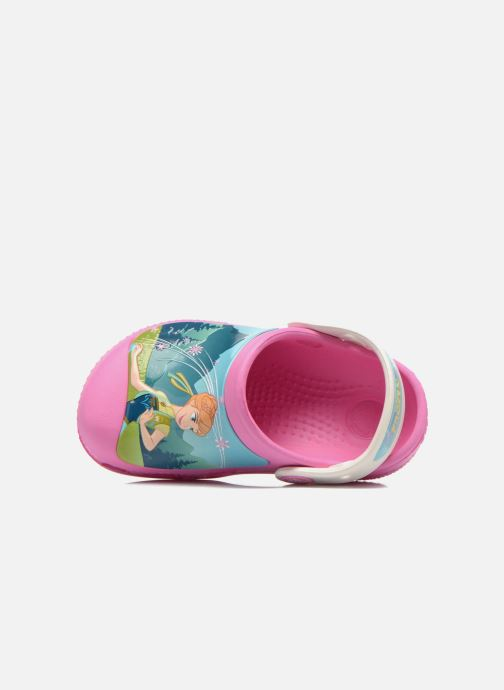 Sandalen Crocs CC FrozenFever Clog K rosa ansicht von links