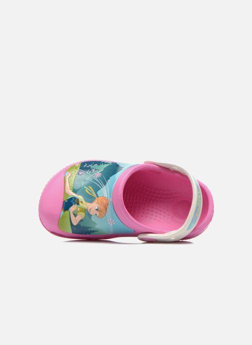 Sandales et nu-pieds Crocs CC FrozenFever Clog K Rose vue gauche