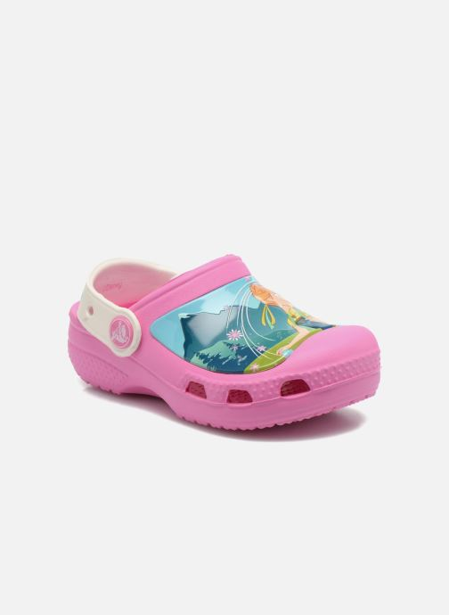 Sandales et nu-pieds Crocs CC FrozenFever Clog K Rose vue détail/paire