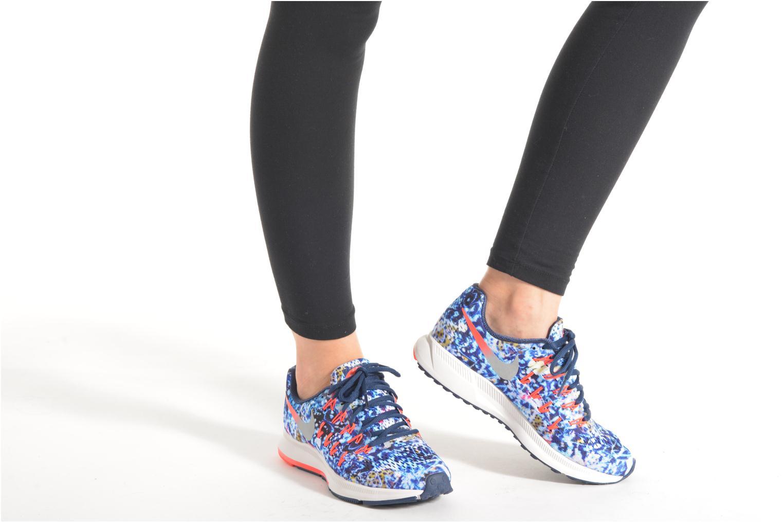 Chaussures de sport Nike Wmns Air Zoom Pegasus 33 Rf E Multicolore vue bas / vue portée sac