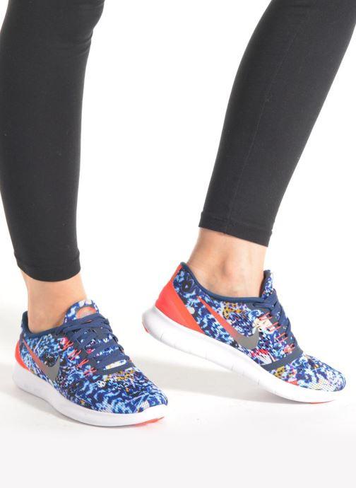 Sportschoenen Nike Wmns Nike Free Rn Rf E Blauw onder