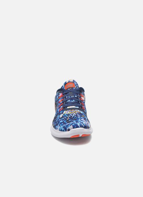 Sportschuhe Nike Wmns Nike Free Rn Rf E blau schuhe getragen