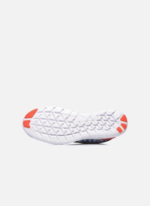 Chaussures de sport Nike Wmns Nike Free Rn Rf E Bleu vue haut