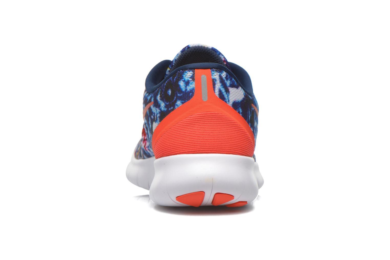 Chaussures de sport Nike Wmns Nike Free Rn Rf E Bleu vue droite