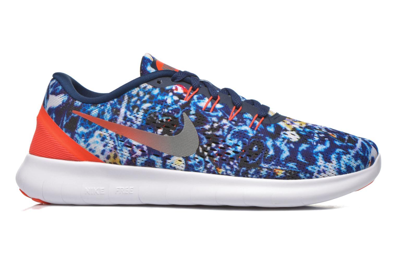 Chaussures de sport Nike Wmns Nike Free Rn Rf E Bleu vue derrière