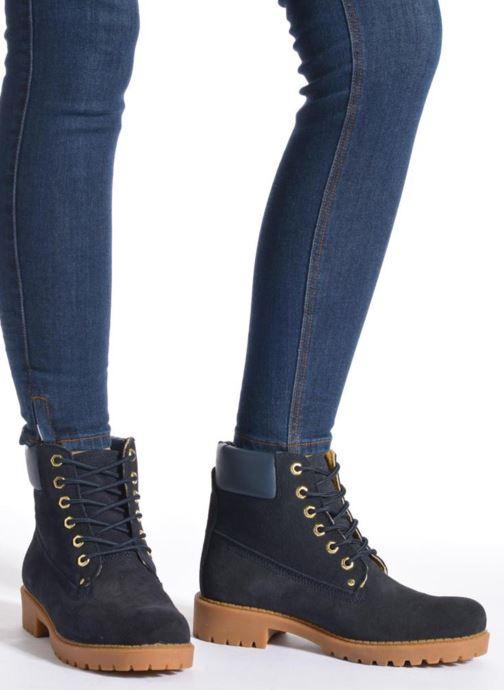 Zapatos con cordones Xti Isia-30029 Marrón vista de abajo