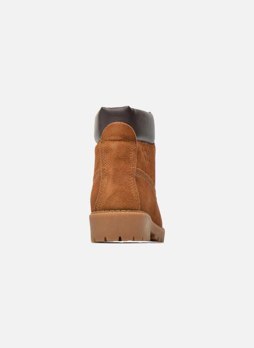 Zapatos con cordones Xti Isia-30029 Marrón vista lateral derecha