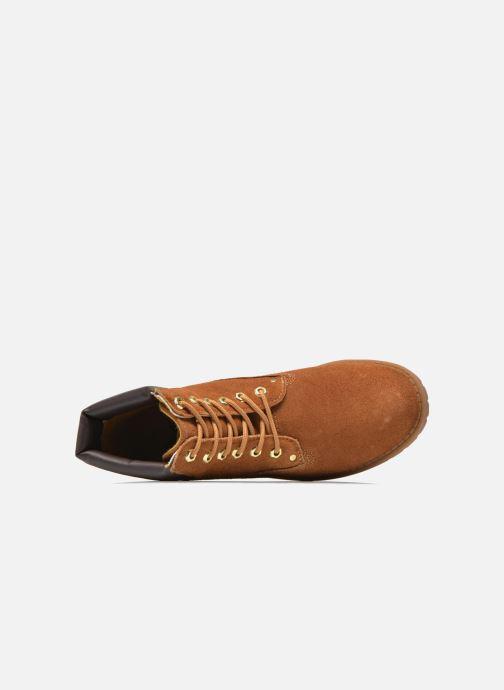 Zapatos con cordones Xti Isia-30029 Marrón vista lateral izquierda
