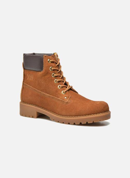 Zapatos con cordones Xti Isia-30029 Marrón vista de detalle / par
