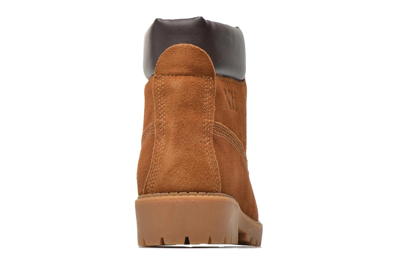 Chaussures à lacets Xti Isia-30029 Marron vue droite