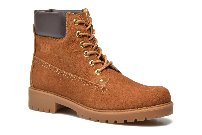 Chaussures à lacets Xti Isia-30029 Marron vue détail/paire