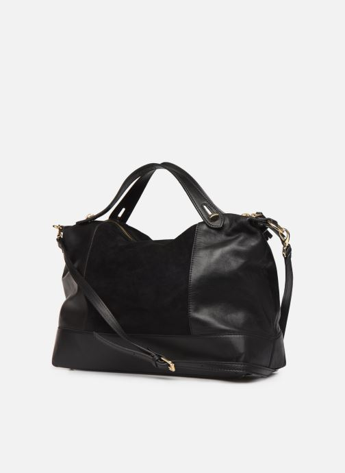 Handbags Minelli Muse Black view from the right