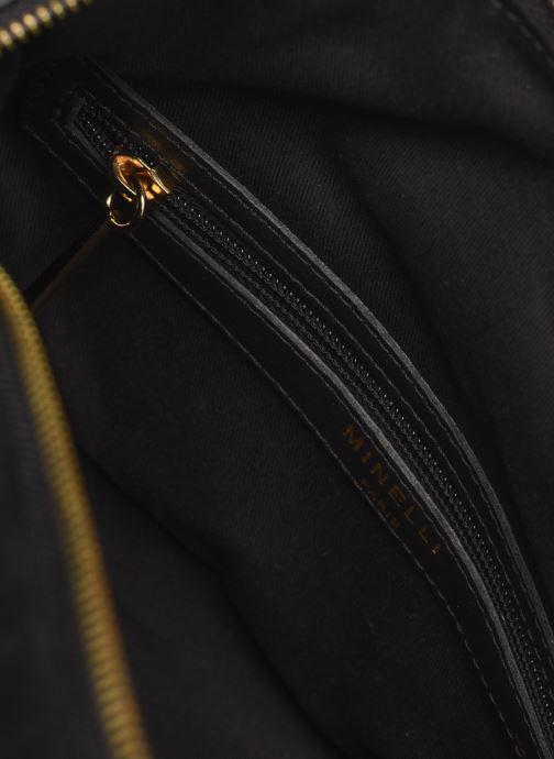 Handbags Minelli Muse Black back view