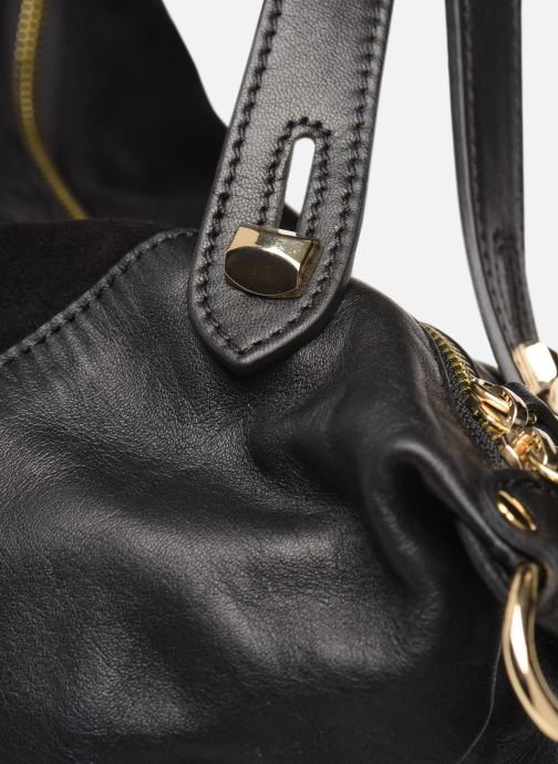 Handbags Minelli Muse Black view from the left