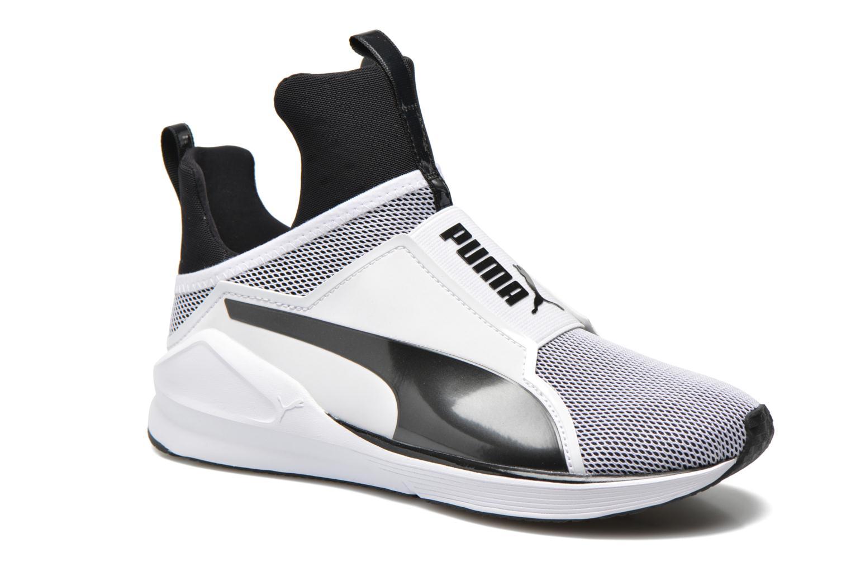 Chaussures de sport Puma WNS Fierce Core Blanc vue détail/paire