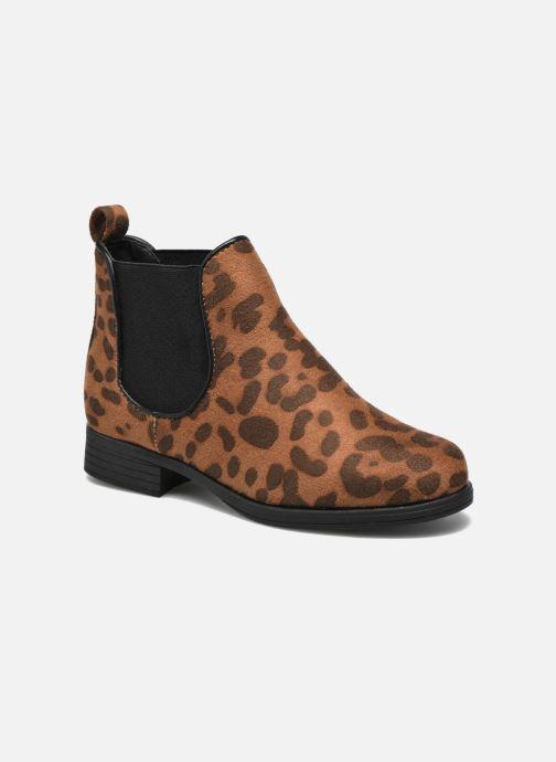 Bottines et boots I Love Shoes MCKELSEA Marron vue détail/paire