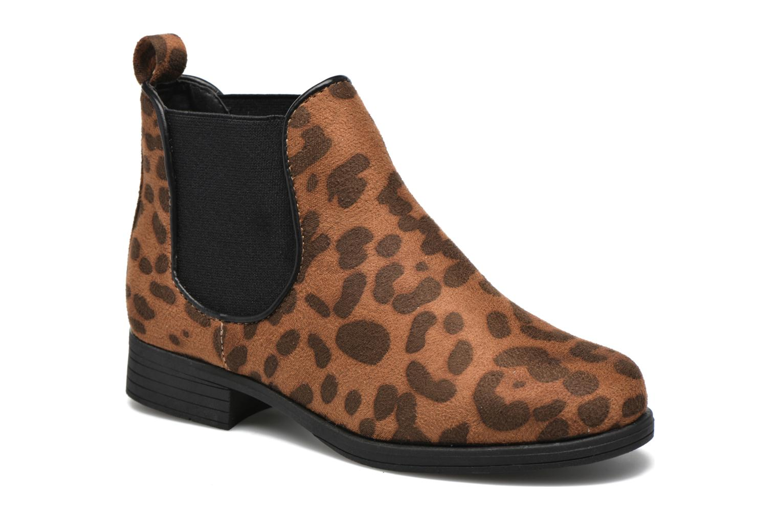 Ankle boots I Love Shoes MCKELSEA Brown detailed view/ Pair view