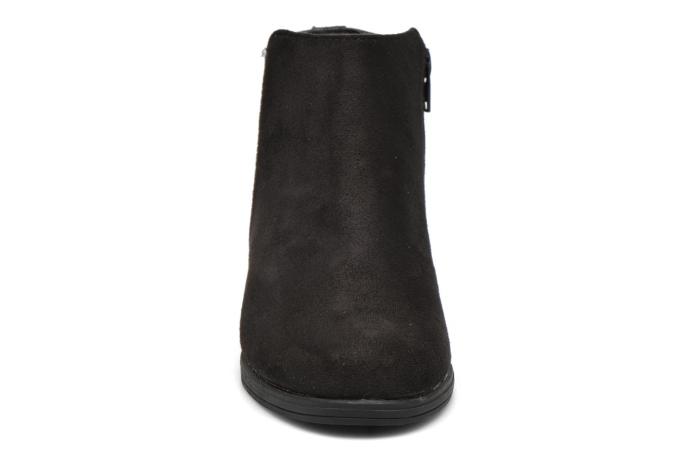 Stivaletti e tronchetti I Love Shoes MCGLIT Nero modello indossato