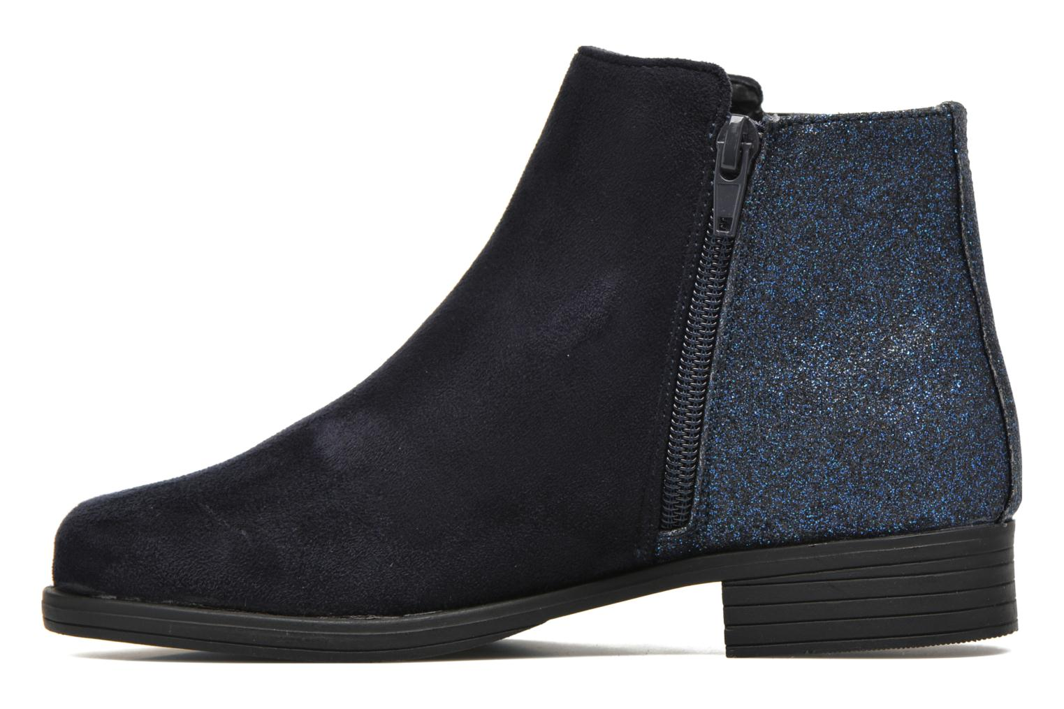 Ankle boots I Love Shoes MCGLIT Blue front view