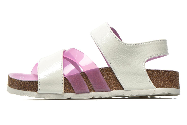 Sandales et nu-pieds Kickers Magiweek Blanc vue face