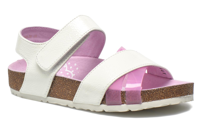 Sandales et nu-pieds Kickers Magiweek Blanc vue détail/paire