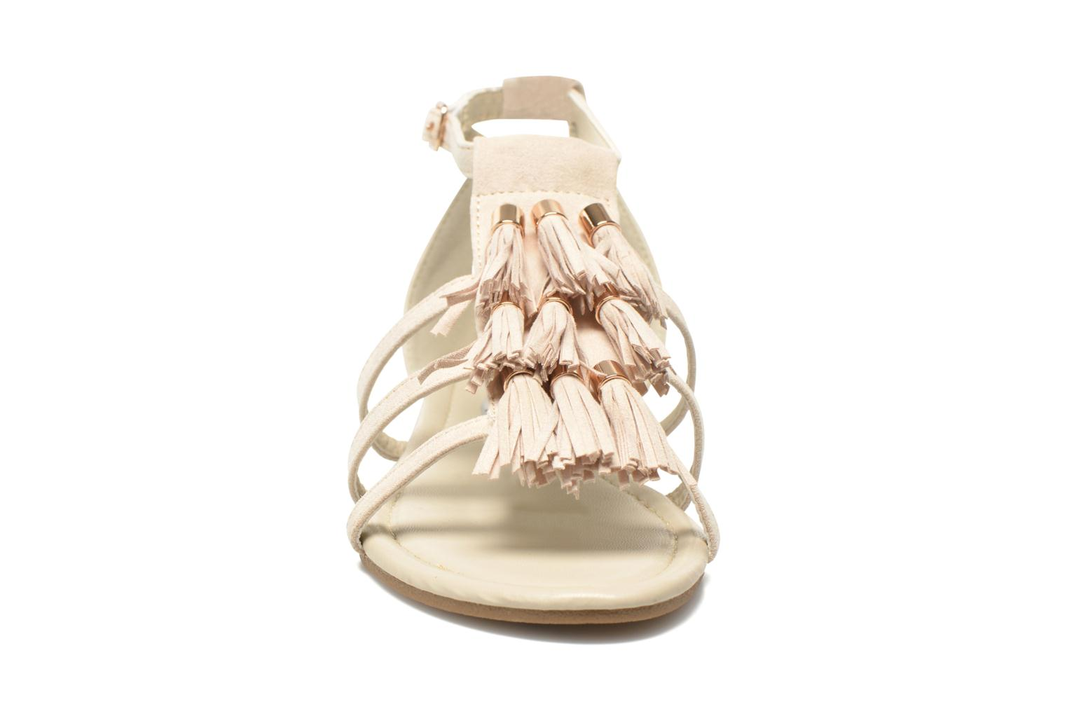Sandalias I Love Shoes Kilia Beige vista del modelo
