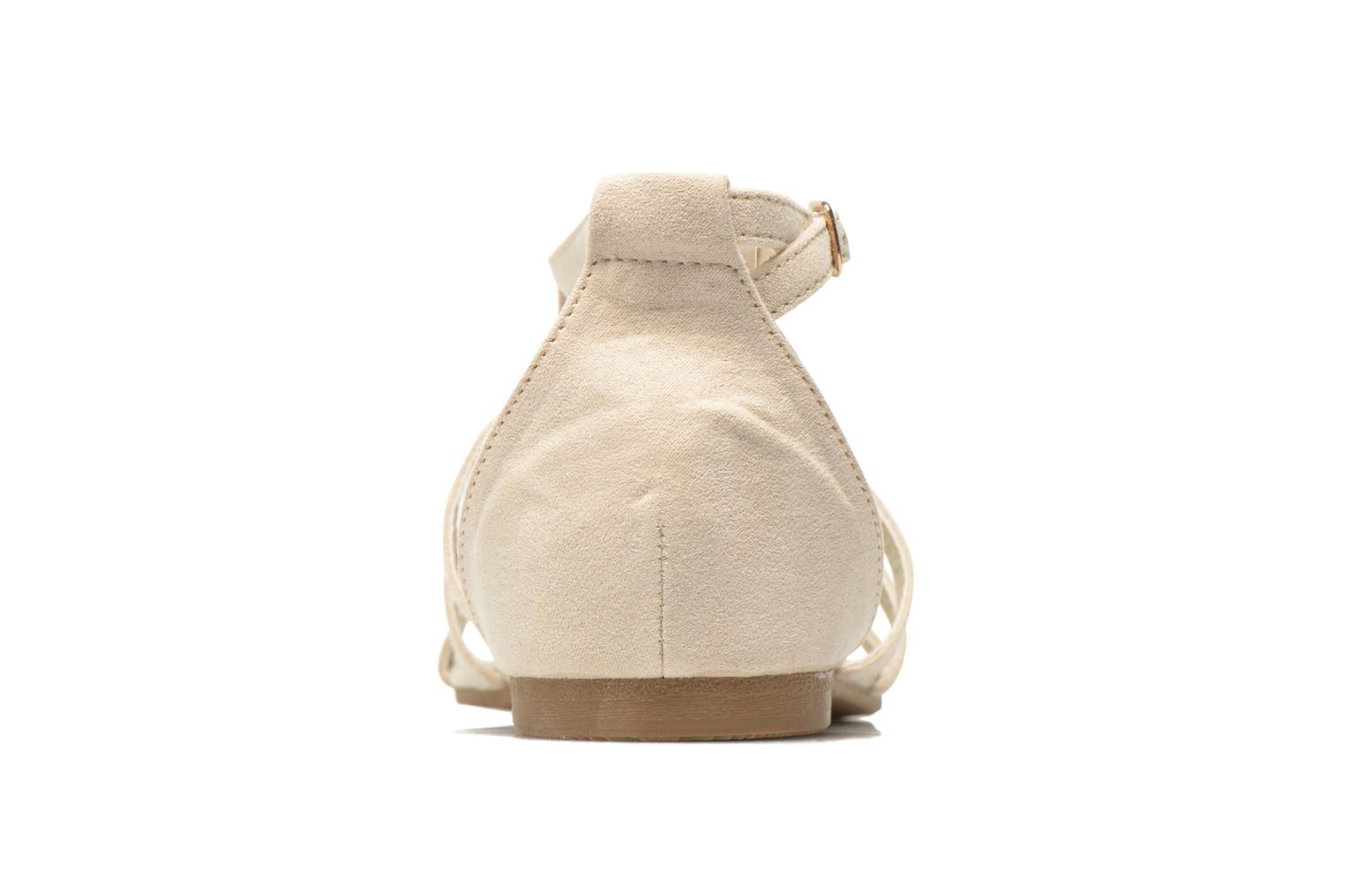 Sandalias I Love Shoes Kilia Beige vista lateral derecha