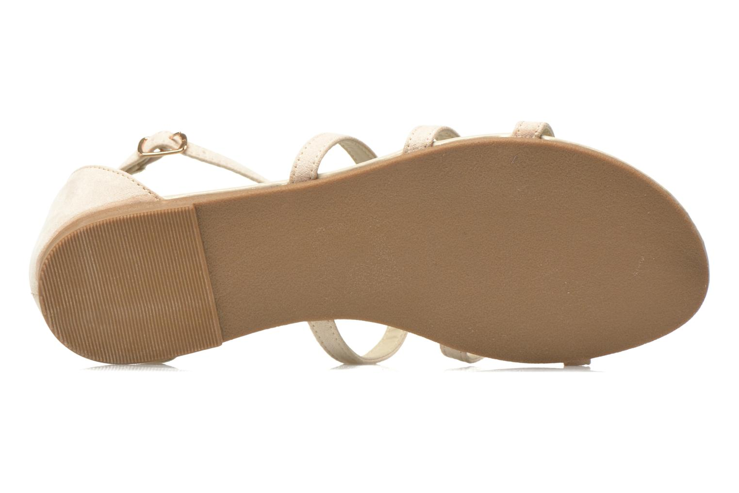 Sandalias I Love Shoes Kilia Beige vista de arriba