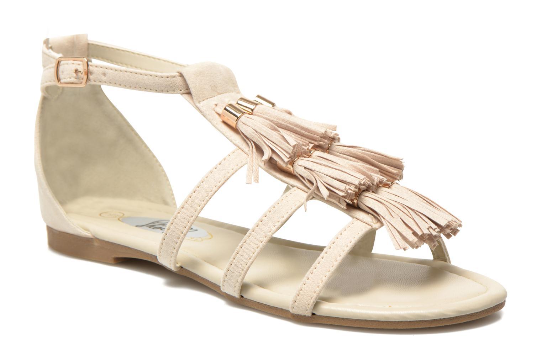 Sandales et nu-pieds I Love Shoes Kilia Beige vue détail/paire