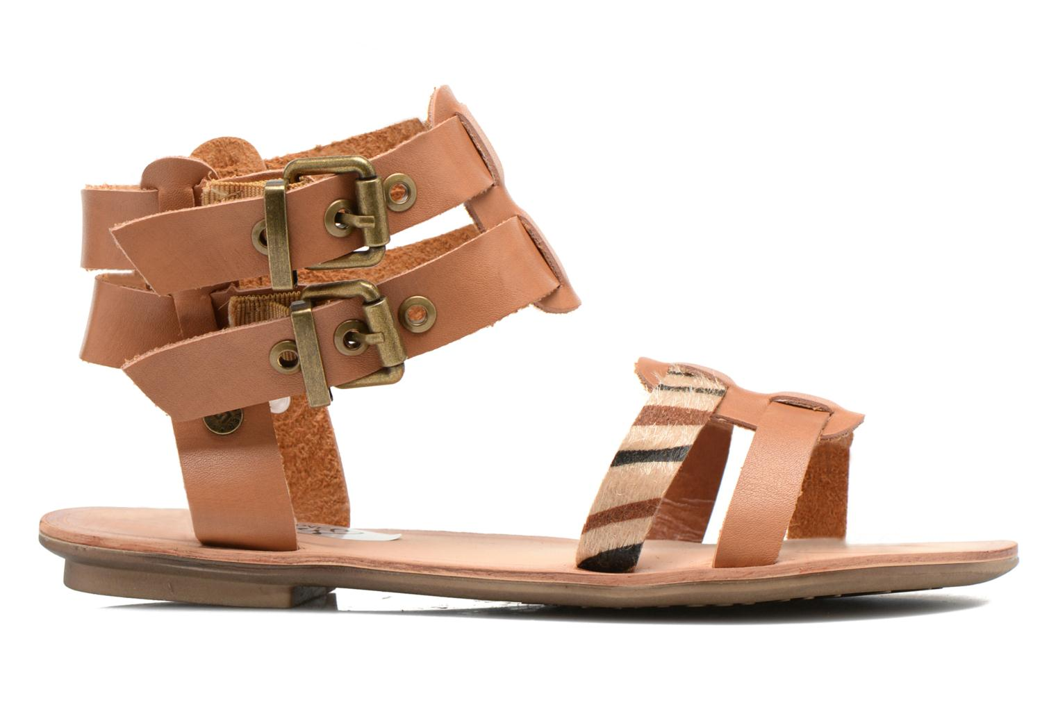 Sandals I Love Shoes Kiro Brown back view