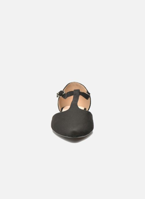 Ballerines I Love Shoes Kiba Noir vue portées chaussures