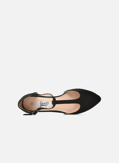 Ballerines I Love Shoes Kiba Noir vue gauche