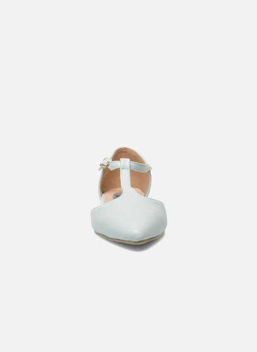 Ballerines I Love Shoes Kiba Bleu vue portées chaussures