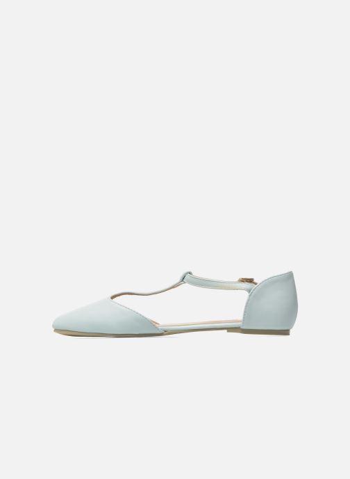 Ballerines I Love Shoes Kiba Bleu vue face