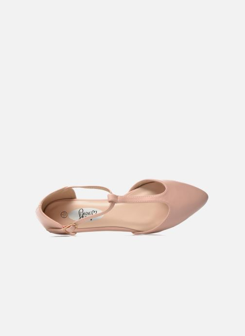 Ballerines I Love Shoes Kiba Rose vue gauche