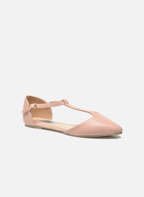 Ballerines I Love Shoes Kiba Rose vue détail/paire
