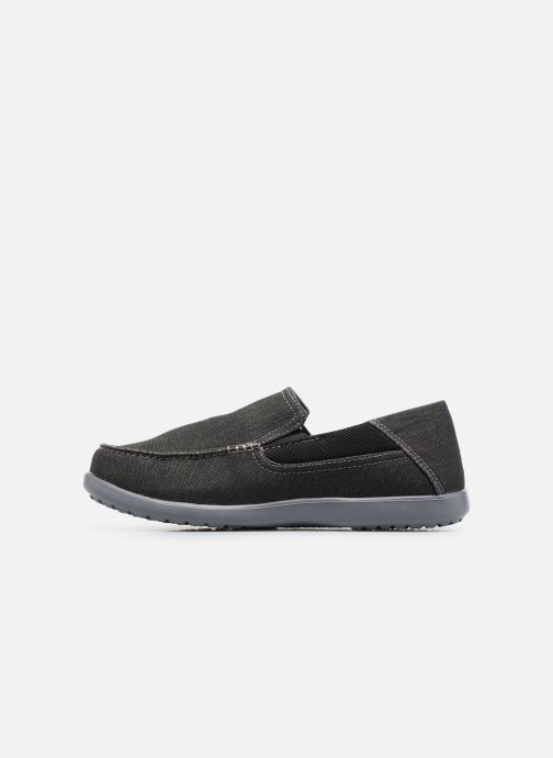 Baskets Crocs Santa Cruz 2 Luxe M Noir vue face