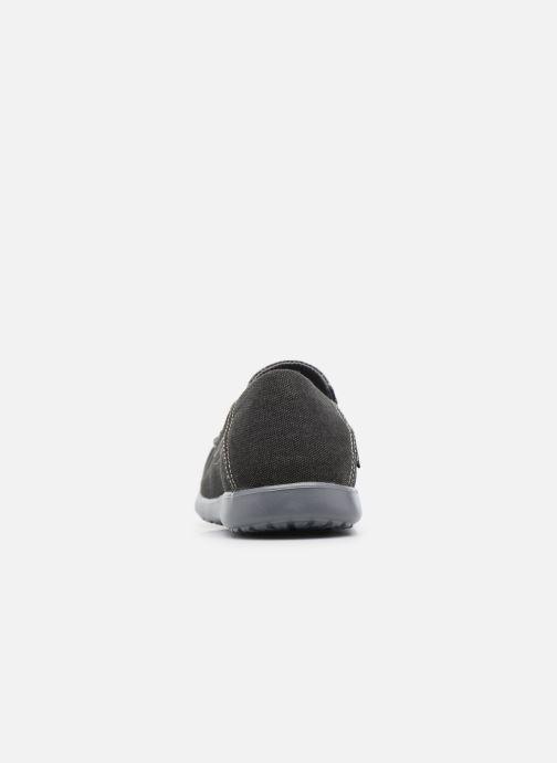 Sneakers Crocs Santa Cruz 2 Luxe M Nero immagine destra