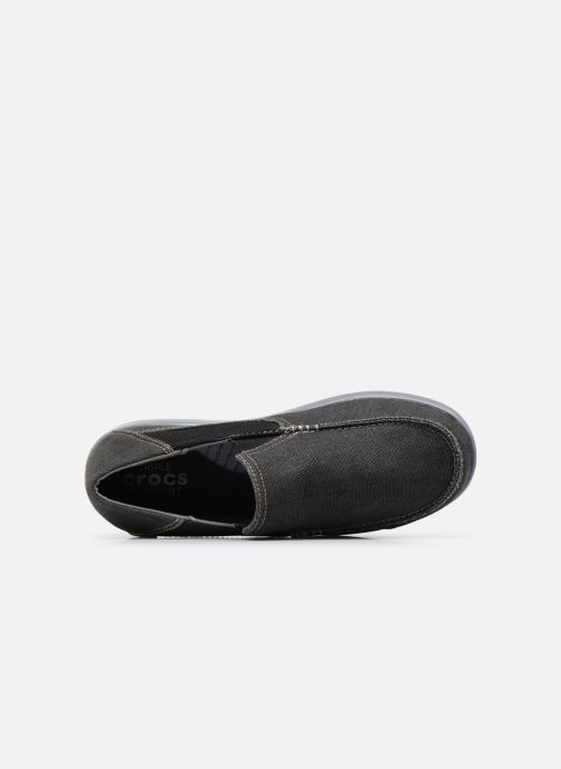 Baskets Crocs Santa Cruz 2 Luxe M Noir vue gauche