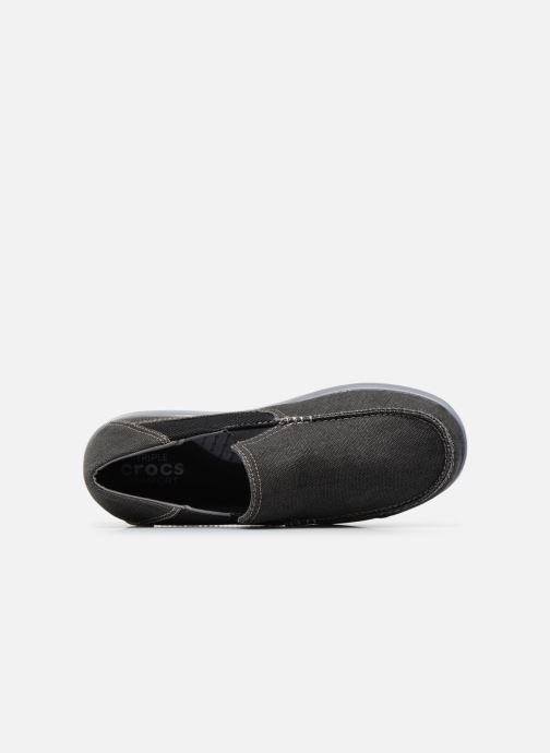Sneakers Crocs Santa Cruz 2 Luxe M Nero immagine sinistra