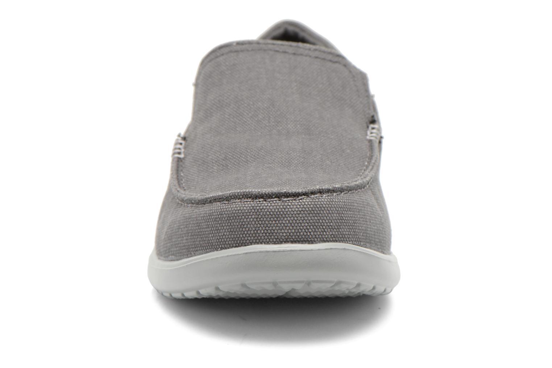 Baskets Crocs Santa Cruz 2 Luxe M Gris vue portées chaussures