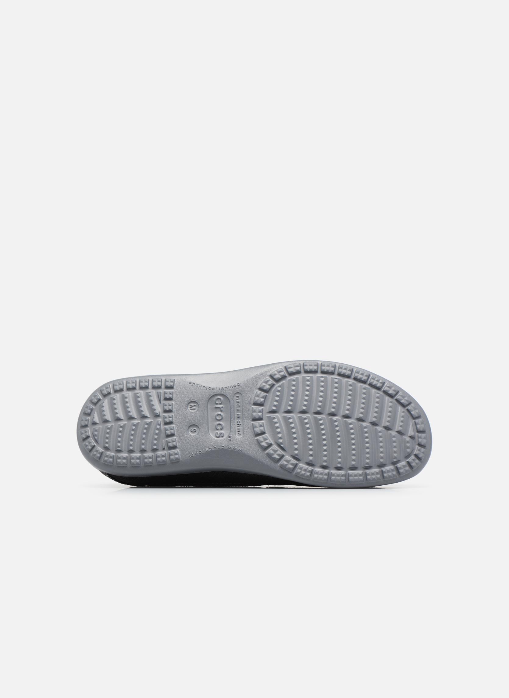 Baskets Crocs Santa Cruz 2 Luxe M Noir vue haut