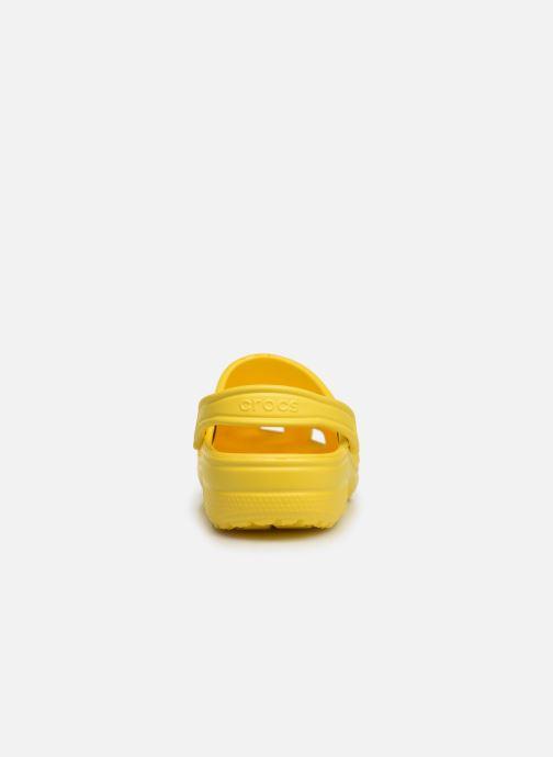Sandalen Crocs Classic H gelb ansicht von rechts