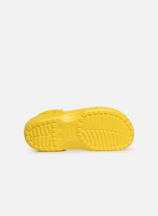 Sandalias Crocs Classic H Amarillo vista de arriba